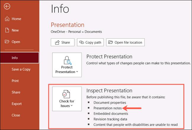 Cách xóa cùng lúc toàn bộ ghi chú trong bài trình chiếu Microsoft PowerPoint - Ảnh minh hoạ 3