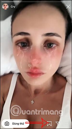 Cách tải filter khóc chảy nước mắt trên Instagram - Ảnh minh hoạ 5