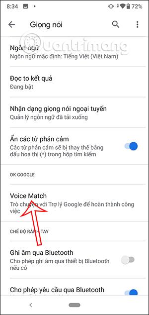 Voice Match
