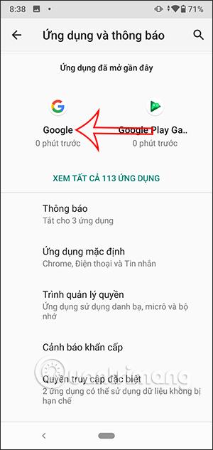 Ứng dụng Google