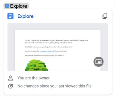 Cách nhúng tệp và sự kiện trong lịch vào tài liệu Google Docs - Ảnh minh hoạ 2