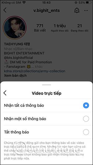 Cách bật thông báo livestream Instagram - Ảnh minh hoạ 4