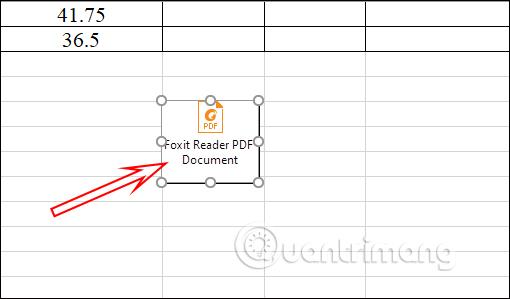 Cách chèn file PDF vào Excel - Ảnh minh hoạ 4