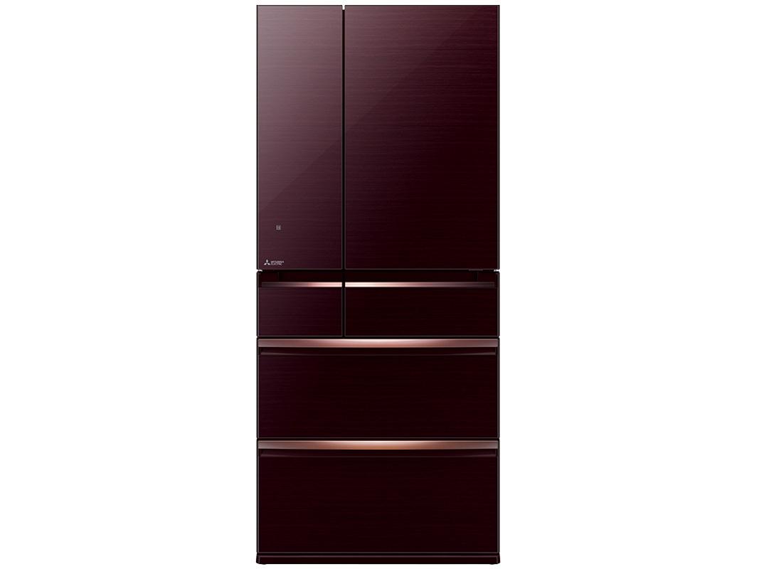Tủ lạnh 6 cánh Mitsubishi Electric MR-WX52D-BR-V - 506 lít (Màu nâu)