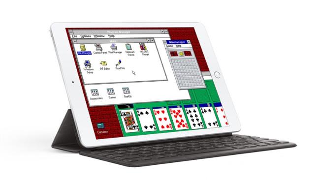 Install Windows 3.1 on iPad successfully thanks to iDOS