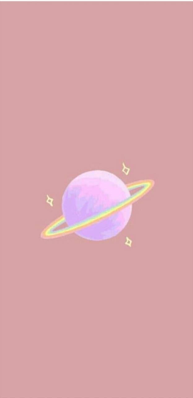 hình nền vũ trụ dễ thương