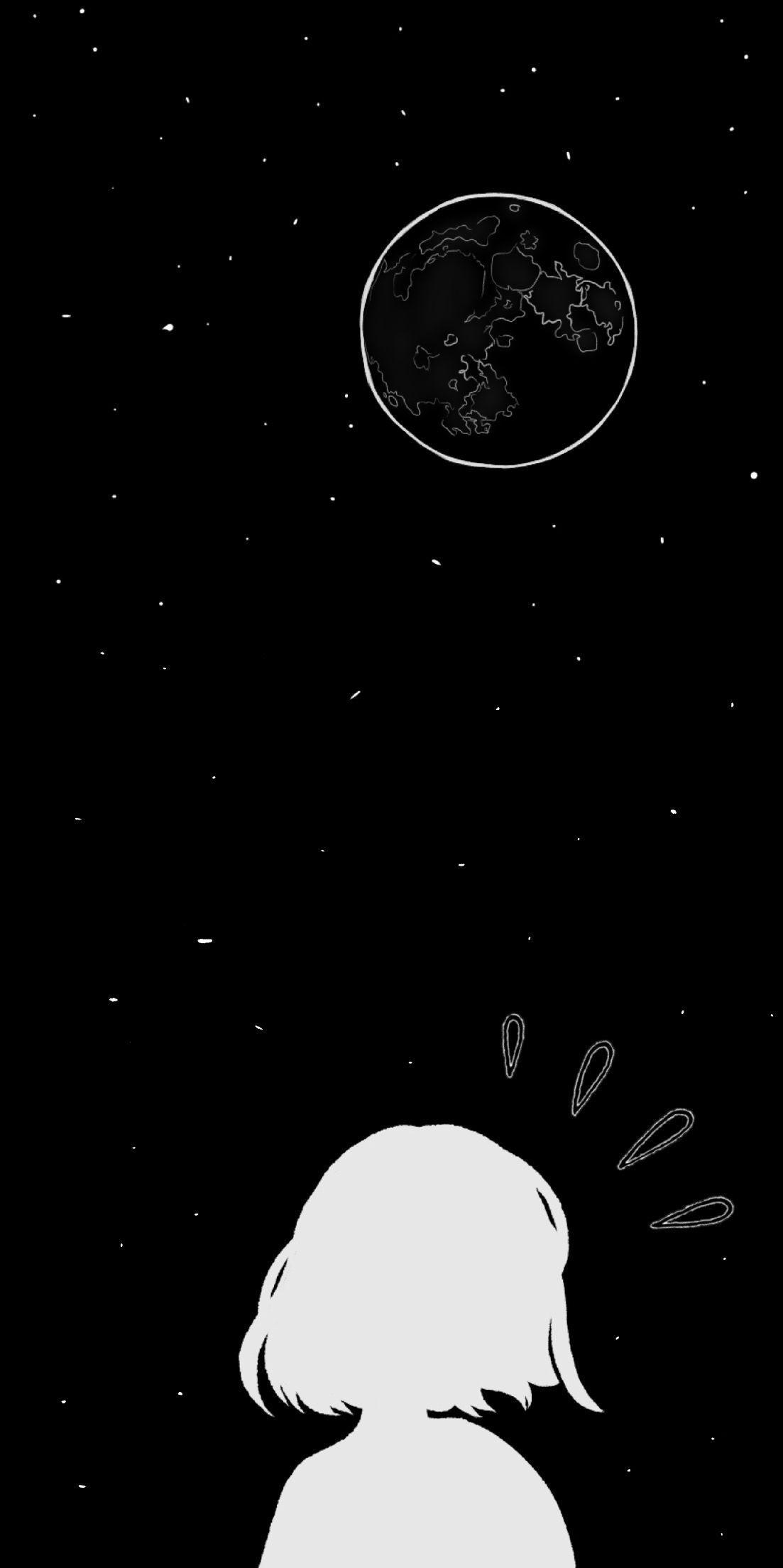 hình nền vũ trụ dễ thương cho iphone