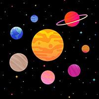 Hình nền vũ trụ đẹp cute, ảnh nền vũ trụ