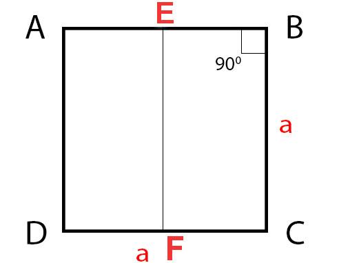 Công thức tính diện tích hình vuông, tính chu vi hình vuông