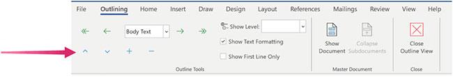 Cách sử dụng Outline View trong Microsoft Word - Ảnh minh hoạ 2