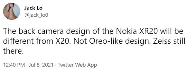 Người dùng Twitter @jack_lo0 hé lộ về tên gọi của chiếc điện thoại Nokia siêu bền.
