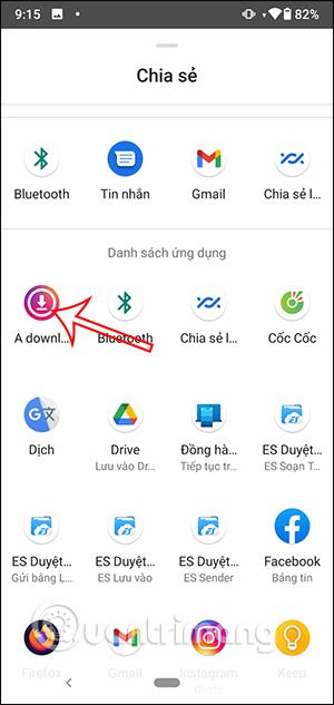 Chọn ứng dụng Downloader for Instagram