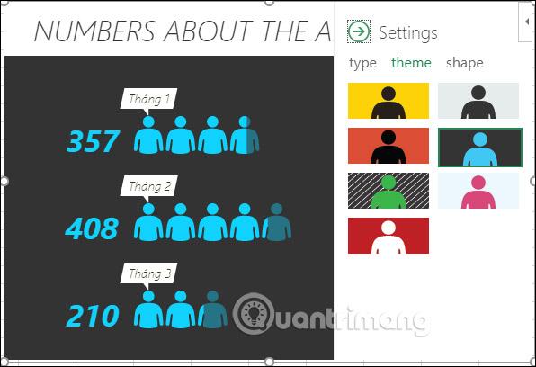 Cách tạo biểu đồ người trong Excel - Ảnh minh hoạ 8