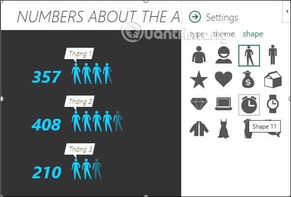 Cách tạo biểu đồ người trong Excel - Ảnh minh hoạ 9