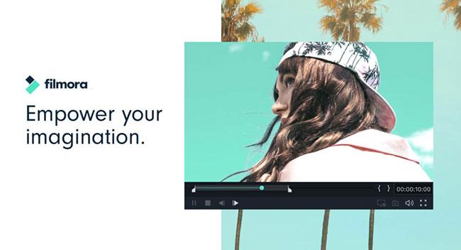 Filmora là phần mềm chỉnh sửa video mạnh mẽ của Wondershare