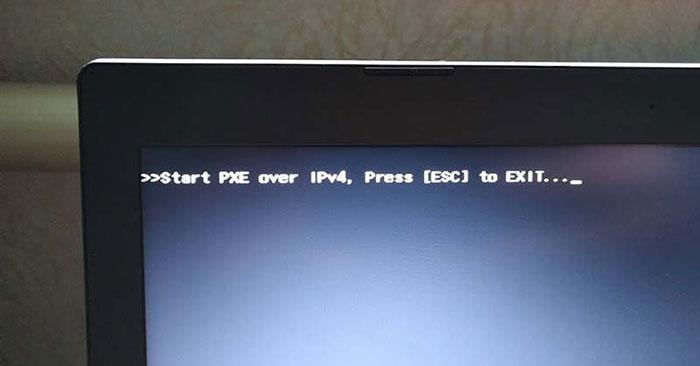 Cách sửa lỗi Start PXE over IPv4 trong Windows 11/10