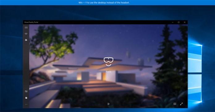 Cách bật/tắt tùy chọn khởi động Mixed Reality Portal khi cắm headset vào Windows 10