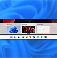 Cách đặt hình nền khác nhau cho các desktop ảo trên Windows 11