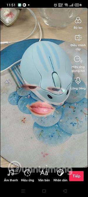 Cách quay video TikTok hiệu ứng Face Features - Ảnh minh hoạ 5