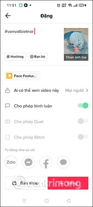 Cách quay video TikTok hiệu ứng Face Features - Ảnh minh hoạ 6