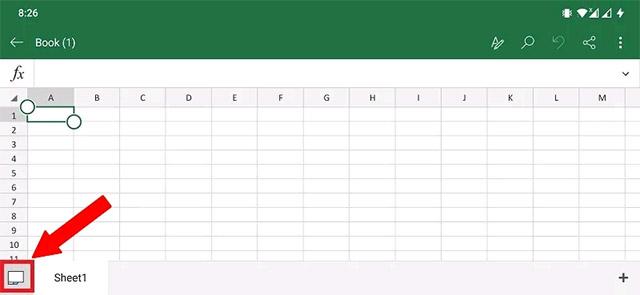 Cách xuất dữ liệu từ ảnh vào trang tính MS Excel trên Android