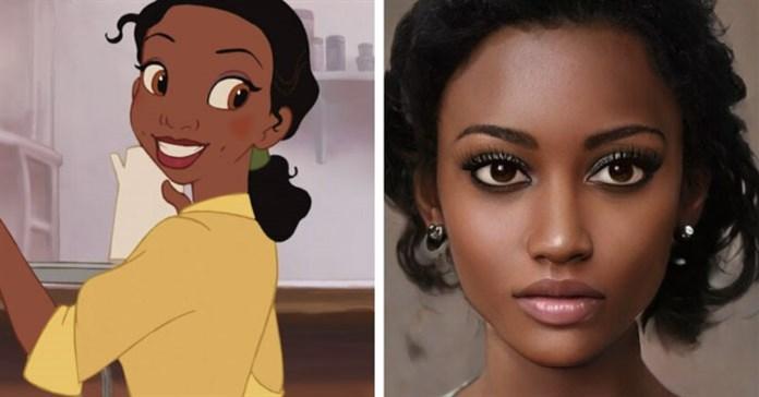 Nhân vật Disney có thật sẽ trông như thế nào? Đây là câu trả lời của AI