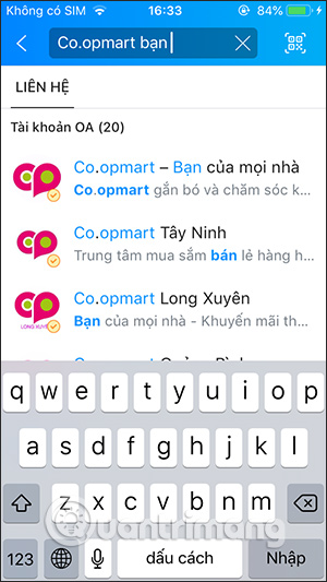 Tìm Coopmart