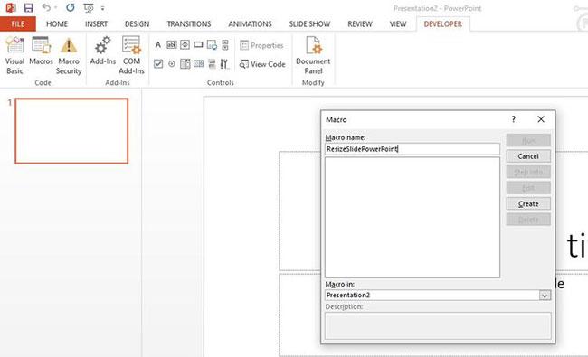 Cách thay đổi kích thước ảnh PowerPoint bằng Macro - Ảnh minh hoạ 5