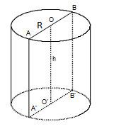 Công thức tính thể tích khối trụ và ví dụ minh họa
