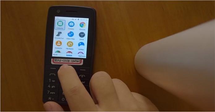Xem chiếc điện thoại 'cục gạch' Nokia 400 chạy Android