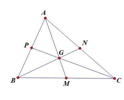 Tính chất trọng tâm của tam giác