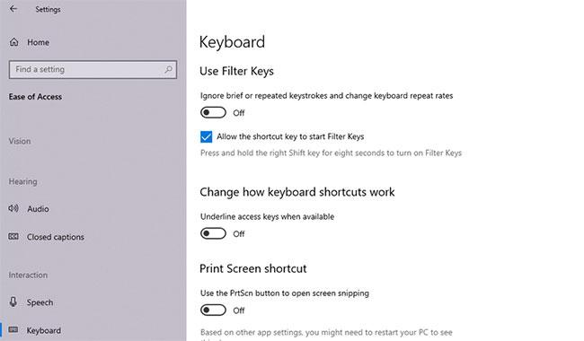 7 cách khắc phục độ trễ khi nhập trên bàn phím Windows 10