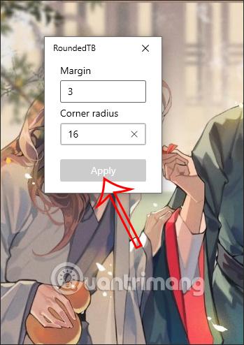 Cách bo tròn thanh Taskbar, tạo lề thanh Taskbar