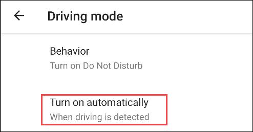 """Nhấn vào """"Turn on automatically"""""""