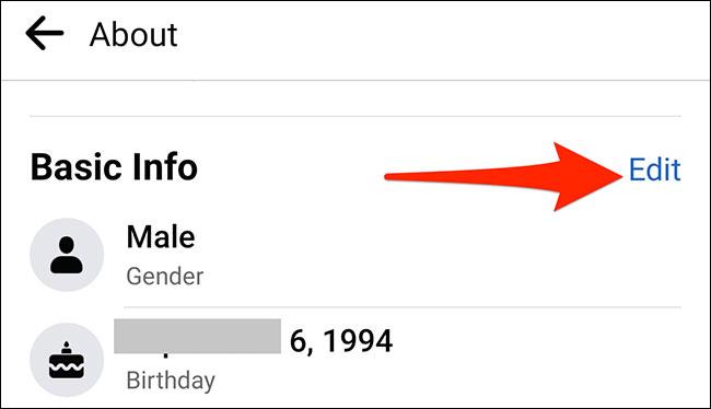 Cách đổi ngày sinh nhật của bạn trên Facebook - Ảnh minh hoạ 10