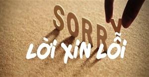 40 câu xin lỗi bằng tiếng Anh hay nhất