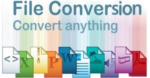 Cách dùng File Converter convert file hàng loạt từ menu chuột phải