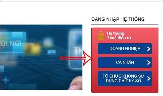 Chọn tài khoản đăng nhập