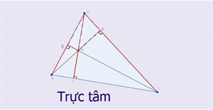 Trực tâm là gì? Xác định trực tâm trong tam giác