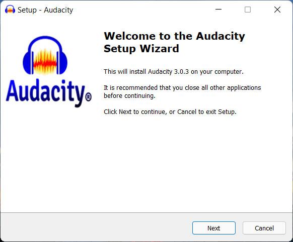 Cài đặt Audacity để đảo ngược âm thanh