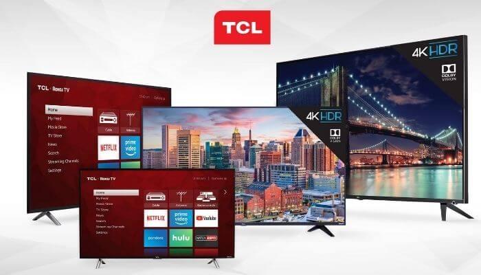 Tivi TCL có nhiều công nghệ màn hình khác nhau