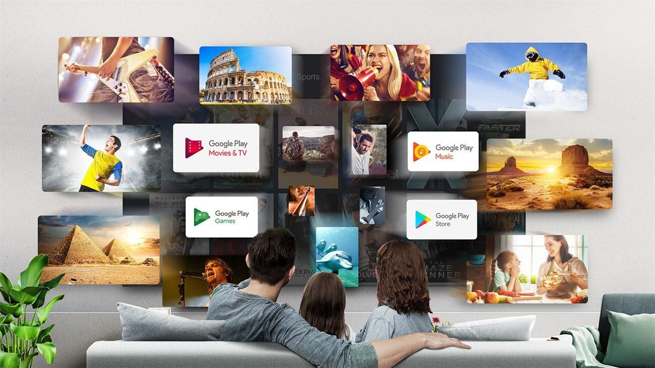 Tivi TCL có hệ điều hành Android