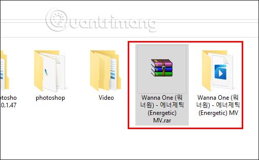 Extract to tên file phần mềm