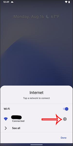 Tùy chỉnh mạng WiFi
