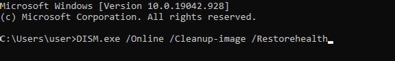 Kiểm tra các file hệ thống bị thiếu hoặc bị hỏng