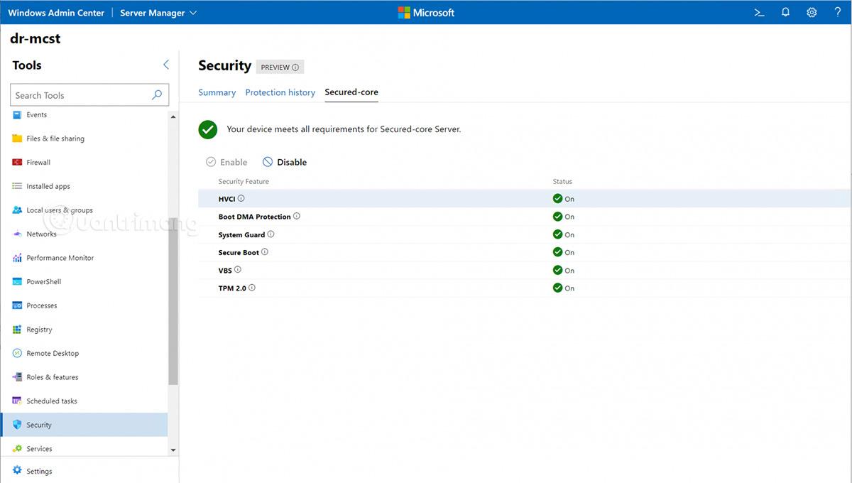Windows Admin Center mới