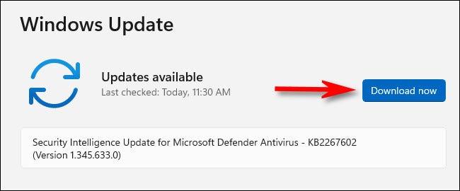 """Nhấp vào """"Download Now"""""""