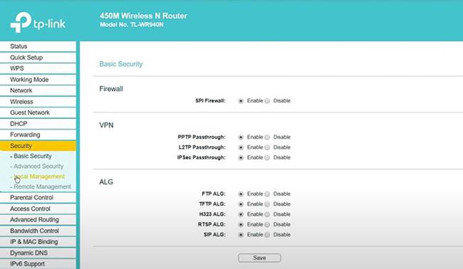 Cấu hình router đúng cách