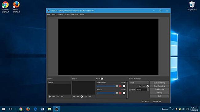 OBS Studio là công cụ chỉnh sửa và ghi màn hình miễn phí với chức năng phát trực tiếp
