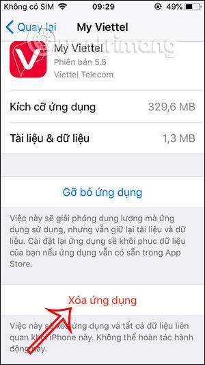 Delete unused apps